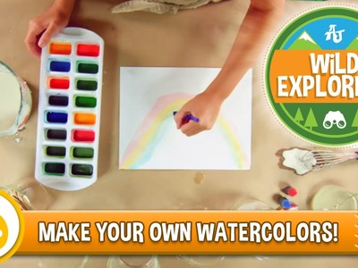 Wild Explorers - Make Your Own Watercolors