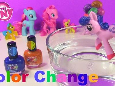 Color Change My Little Pony DIY Nail Polish Craft