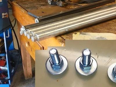 DIY Adjustable height table legs