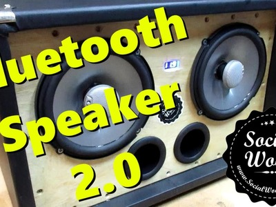 DIY BEST BLUETOOTH SPEAKER EVER! Version 2.0