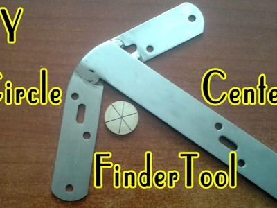 DIY Circle Center Finder Tool