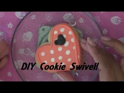 DIY Cookie or Cupcake Swivel! Makes Decorating Easier!