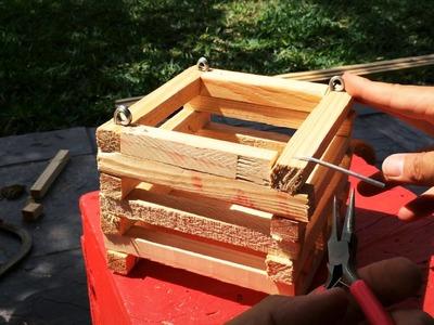 DIY: Hanging Vanda Basket (Step by Step)