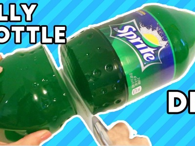 [DIY] How To Make a HUGE Gummy Sprite Jelly Bottle!
