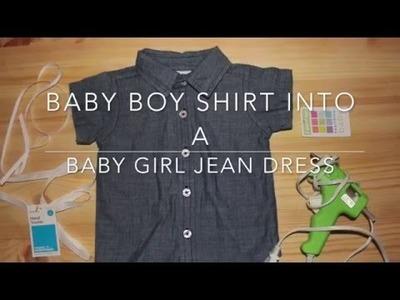DIY - JEAN DRESS