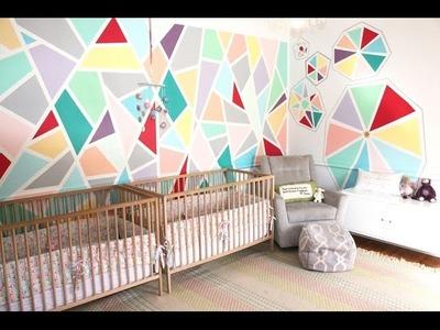 DIY- Modern Mosaic Baby Room
