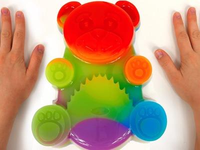 Giant Gummy Rainbow Bear DIY How to Make