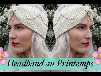 Porter le headband au printemps - DIY