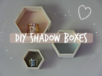 QUICK & EASY DIY ROOM DECOR | Shadow Boxes