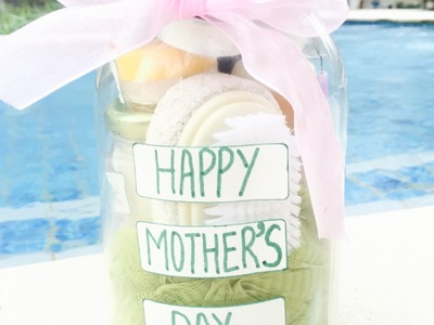 SPA IN A JAR II Happy Mother's Day II DIY
