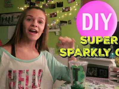 SUPER SPARKLY DIY CUPS | Emma Marie's World