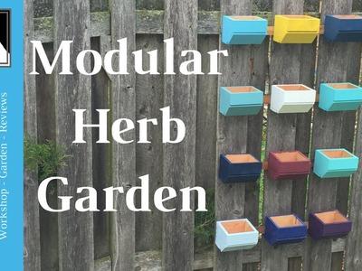Vertical Gardening - Make an easy DIY modular herb garden!   MidwestManMountain   76