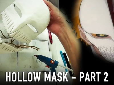 #117.2: Hollow Mask Part 2 - Teeth & Plaster | Bleach Ichigo | Costume Prop How To | Dali DIY
