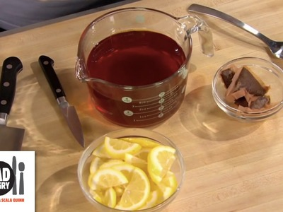 Black Tea and Citrus Pitcher - Mad Hungry with Lucinda Scala Quinn