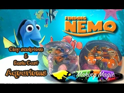 Clay Sculpting tips and Resin Casting | Making Magic with Dan-O: Finding Nemo