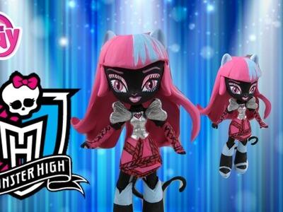 Custom Monster High Catty Noir Mini Doll | Twilight Sparkle | Start With Toys