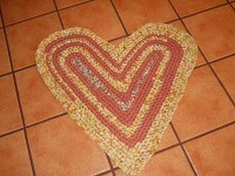Easy Heart Rag Rug Part 2