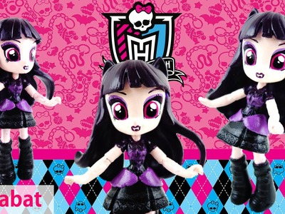 Elissabat New Monster High Doll Custom with My Little Pony Equestria Girls Mini Doll