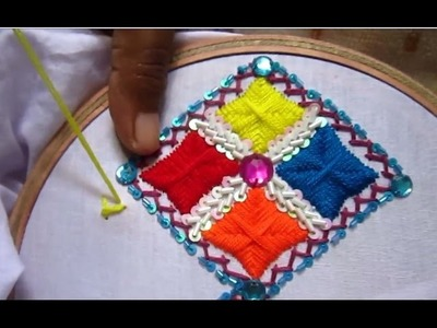 Hand Embroidery Designs | Embroidery Designs for Dresses | Stitch and Flower-71