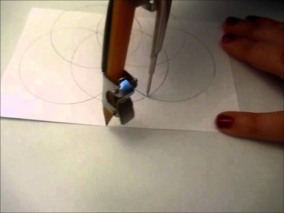 How to Draw a Perfect Flower (Compass Style)