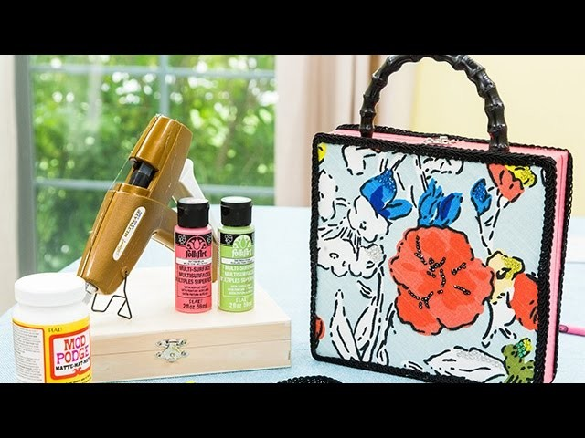 How to - How to Make Stylish Cigar Box Purses - Hallmark Channel