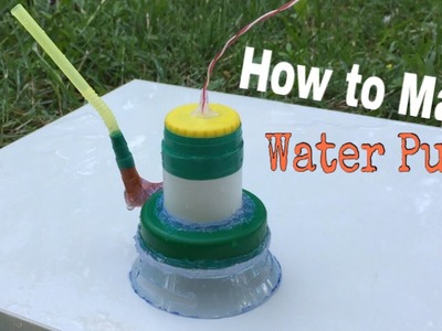 How to Make a Super Power Water Pump at Home - Easy Way - Tutorial