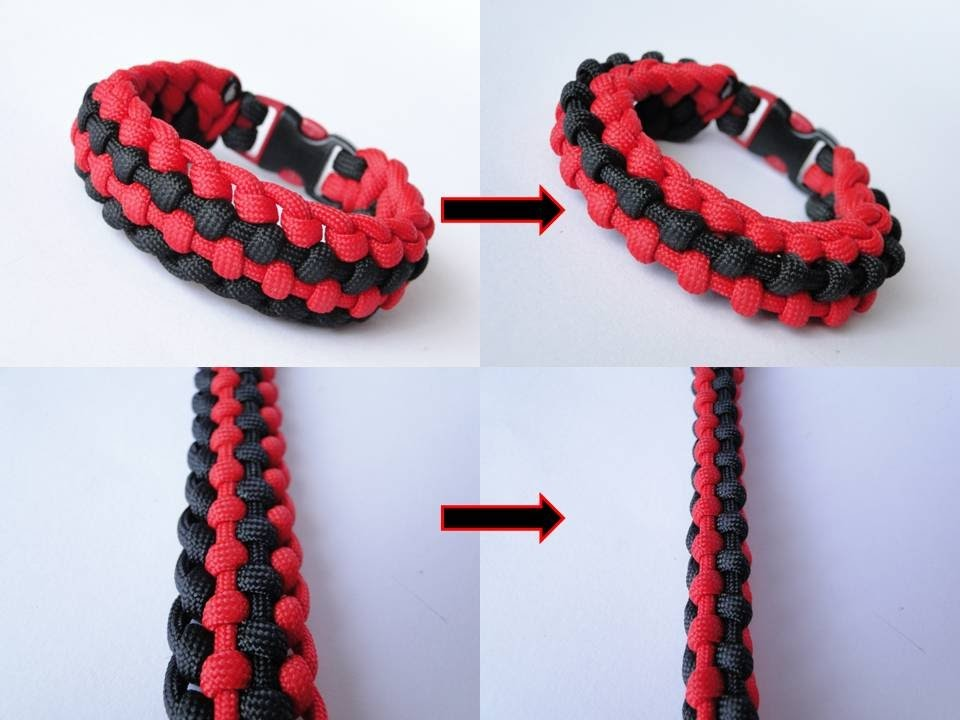 """How to Make a """"Transformer"""" Paracord Survival Bracelet by CreationsByS"""
