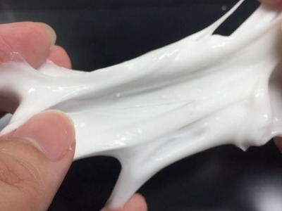 How to Make Milk Slime from White Glue - Elieoops