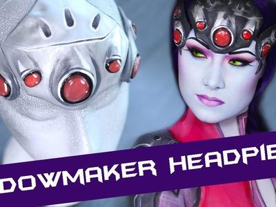 HOW TO: Widowmaker's Headpiece.Makeup Appliance