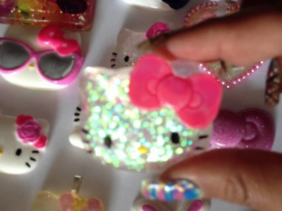 HUGE HELLO KITTY GLITTER RESIN REVEAL - hellokittyshopaholics.weebly.com