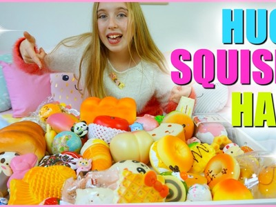Huge Squishy Haul & Collection 2016 -  iBloom, Puni Maru and More!