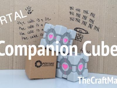 Making a Companion Cube