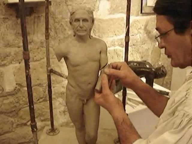 Making a Sculpture . . Part 1