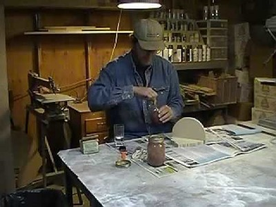 Milk Paint Instruction Video - Part one of two