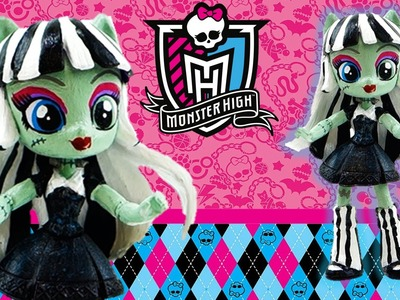 New Custom Monster High Frankie Stein Doll From My Little Pony Equestria Girl Tutorial