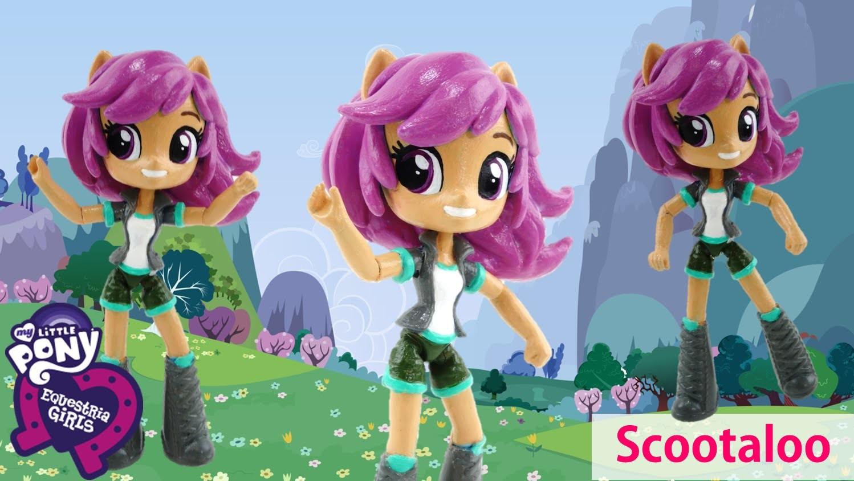New Custom SCOOTALOO My Little Pony Equestria Girl Minis Doll Tutorial