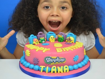 New Shopkins Season 4 Surprise Birthday Cake | Edible Ultra Rare Shopkins | Toys AndMe