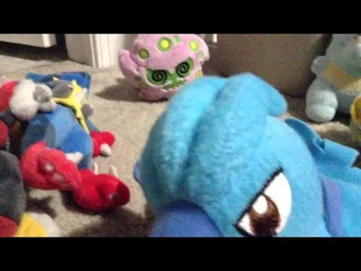 Pokemon Plush World War Venipede Part 1