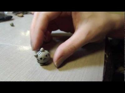 Pusheen Cat Clay Tutorial