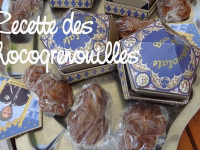 Recette des Chocogrenouilles - How to make  Chocolate Frogs