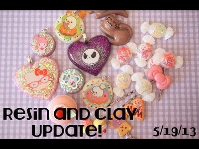 Resin and Clay Update! 5.19.13
