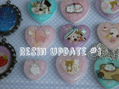 Resin Update #1 Molang Resin Pieces!