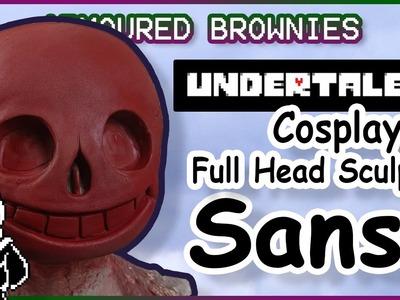 Sculpting Sans Cosplay Tutorial - Undertale Mask Sculpt