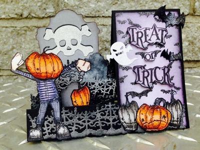 Side Step Halloween Card & Halloween Haul 2014