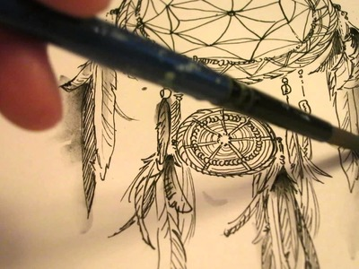 Speed painting: Dreamcatcher