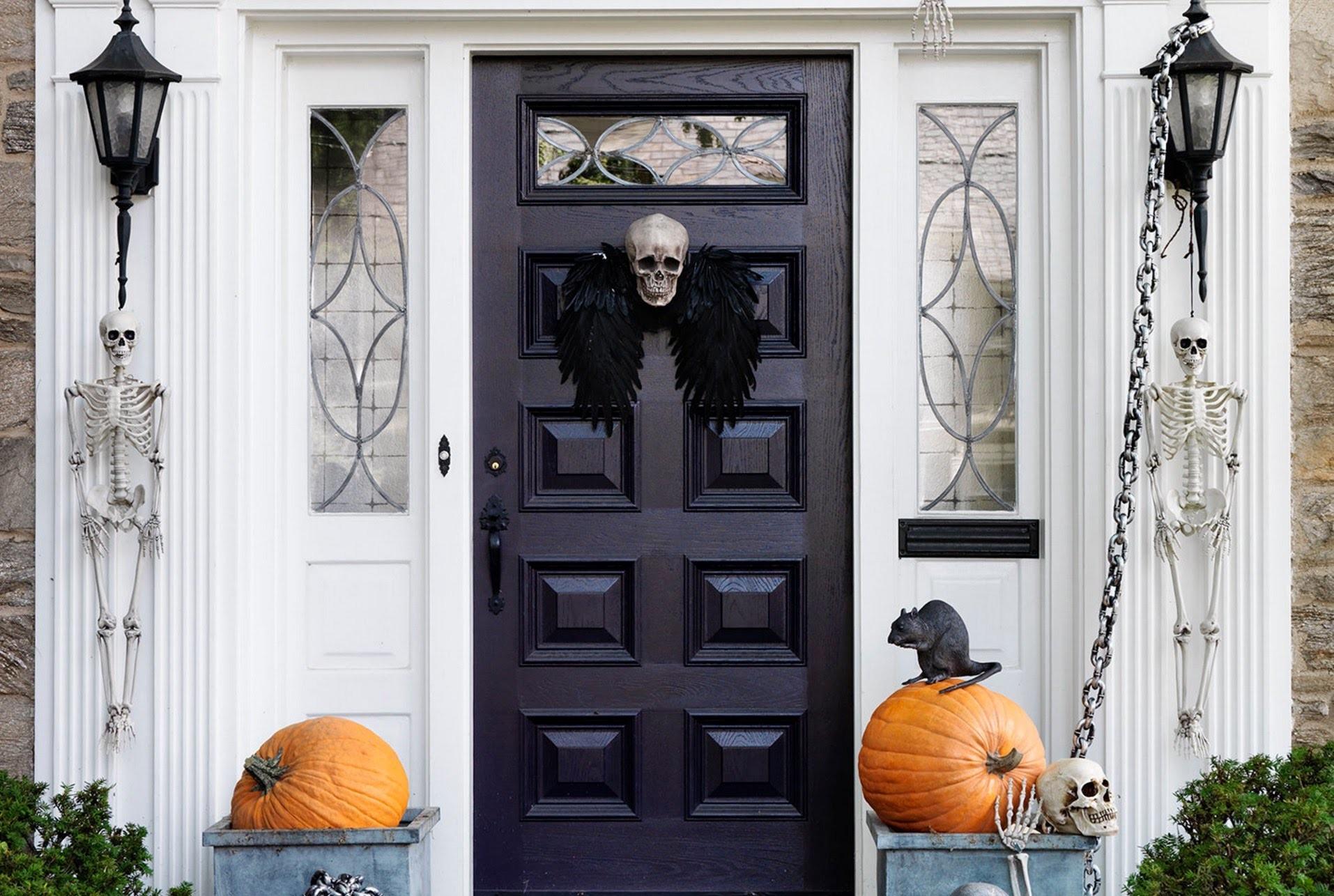 Spooky Halloween Decorations for Your Front Door | Real Simple