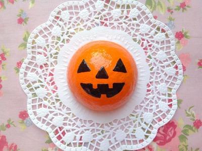 Squishy Tutorial: Creepy Halloween Pumpkin Bun ♡