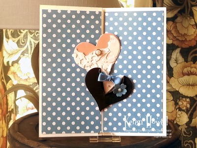 Stampin' Up! Happy Couple Fancy Fold Card