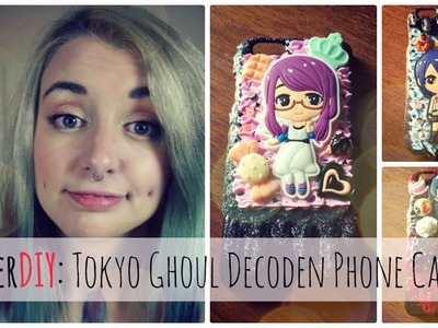 Tokyo Ghoul Decoden Phone Case - NerDIY