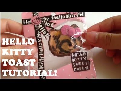 Tutorial:Hello Kitty Toast Squishy